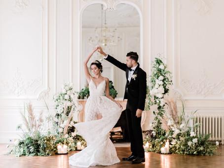 A Dream of Swans: Fine Art Wedding Inspiration