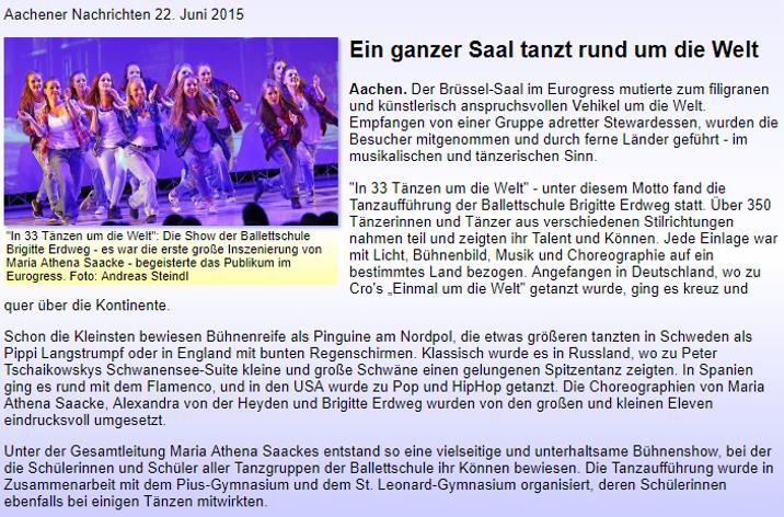 In 33 taenzen um die Welt-ballettschule-