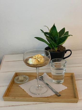 KaffeeWerkstadt Affogato Espresso mit Eis