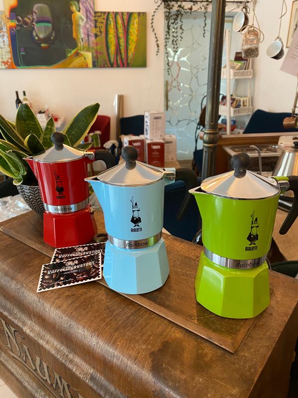 KaffeeWerkstadt Bialetti 3 Tassen Aluminium