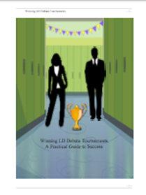Winning LD Debate Tournaments (2nd Ed.)
