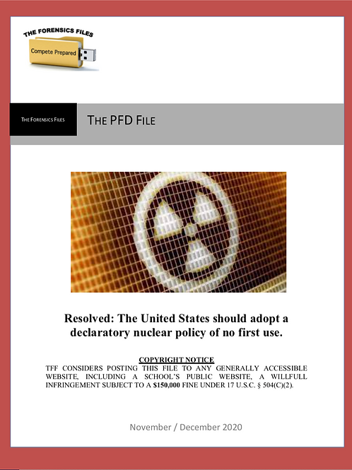 Nov/Dec PFD File (NSDA) - No First Use