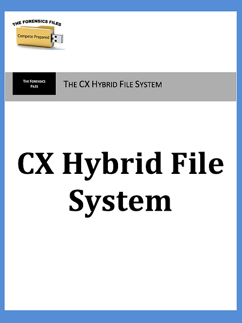 CX Hybrid File System - Arms Sales
