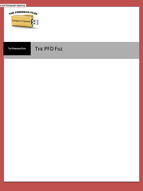 NSDA Nationals PFD File - Pre-Order