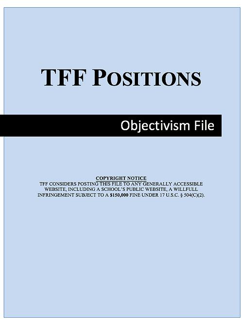 Objectivism File (LD)