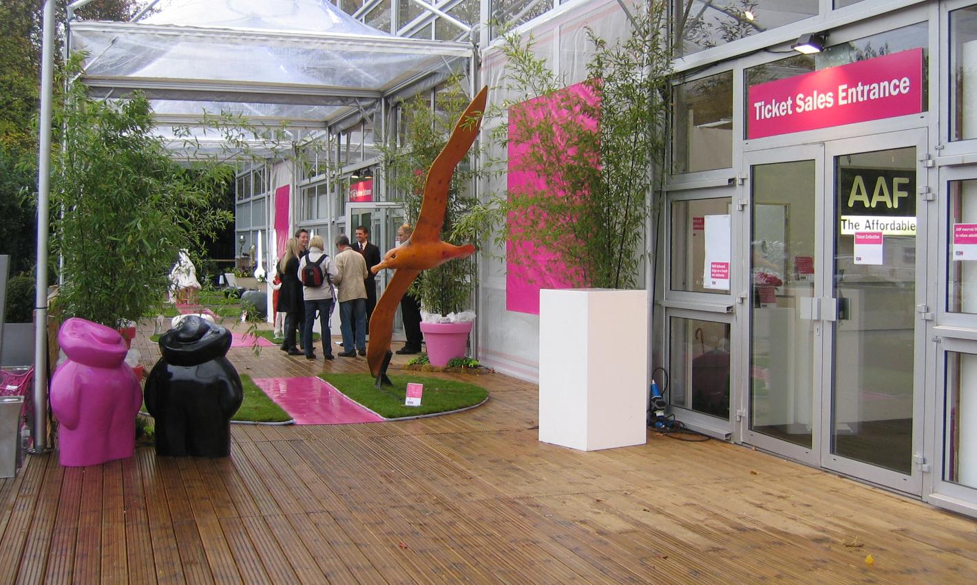 Affordable Art Fair. London