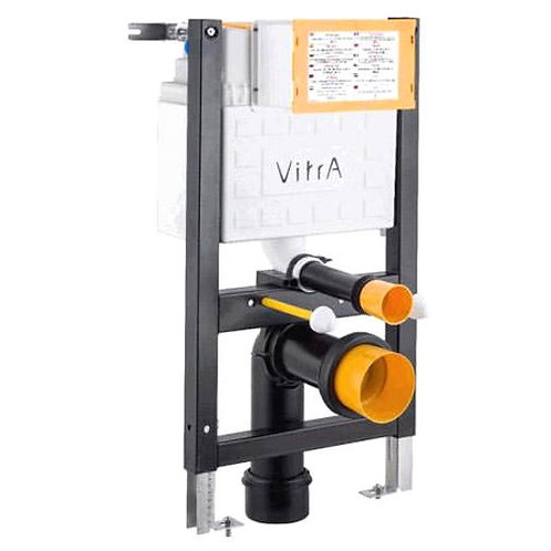 Vitra REDUCED height wall hung frame & cistern