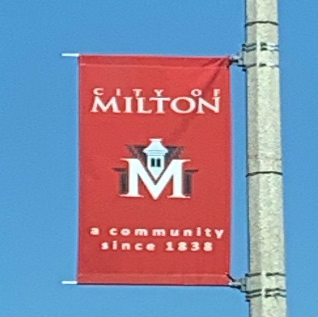 We love the city of Milton!