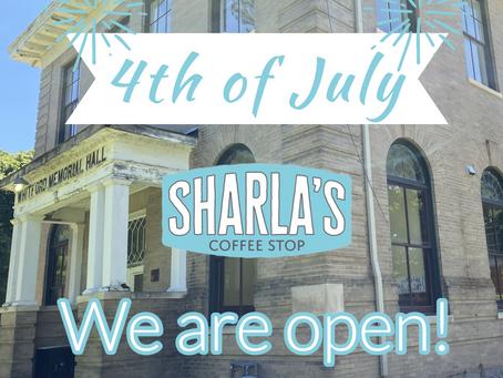 Open on July 4th!