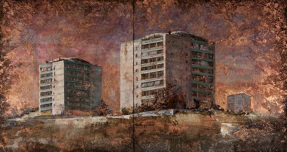 Eleonora Martorana_Roman buildings_80x15