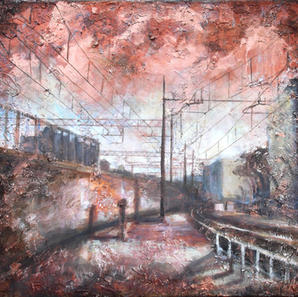 The old railway                  WAS £500 NOW £325