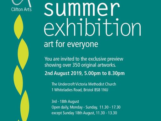 Summer exhibition Clifton Arts Club