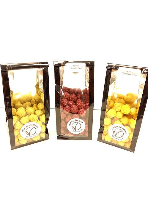 Pralines aux fruits sans colorant