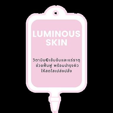 Luminous Skin - Booster IV Drip