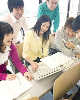 Japanese students at the University.jpg