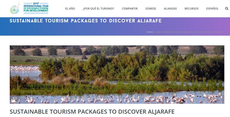 Productos Turísticos Sostenibles