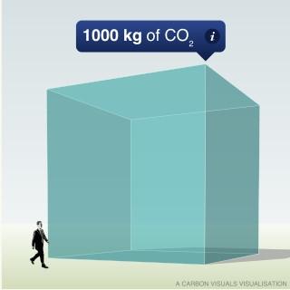 Tonelada de CO2. Huella de Cabono