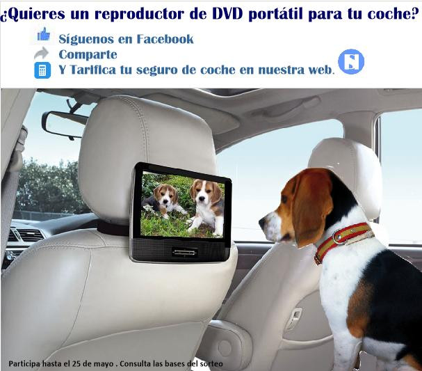 Sorteo DVD para coche