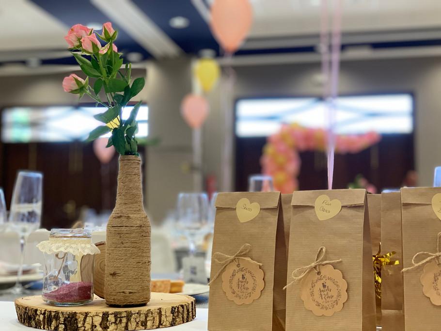 Salón de celebraciones de bodas