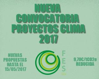 Proyectos Clima 2017