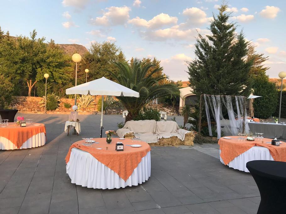 Zonas exteriores para bodas