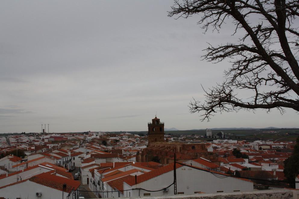 Vistas de Azuaga desde el Castillo
