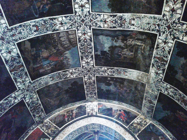 Frescos de la ermita de la Virgen del Ara