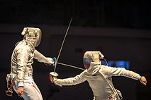 Huahua Fencing bout