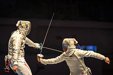 Toronto Fencing Club bout