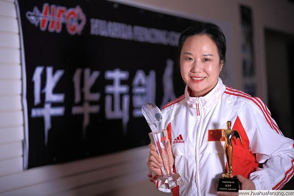 Huahua Li Fencing Champion Head Coach