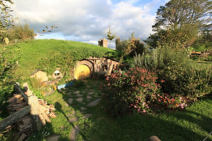 A hobbits home! One of the many exquisite sites on our Full-Day Tour - The Hobbit Tour of Hobbiton.