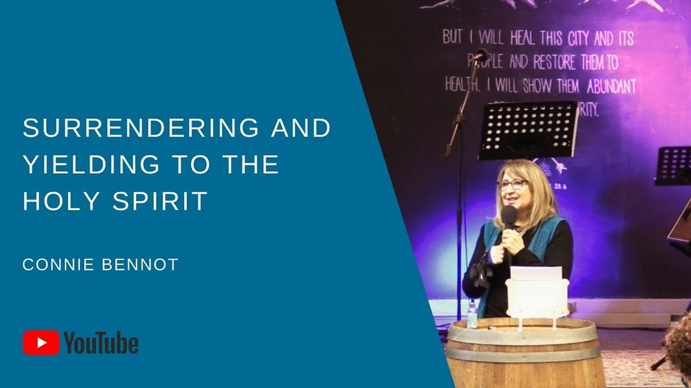 Surrendering & Yielding To The Holy Spirit