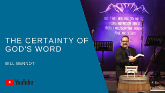The Certainty Of God's Word