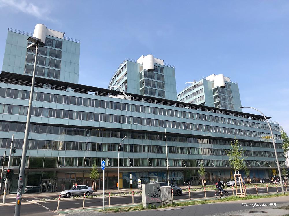 Die BVG-Zentrale in Berlin