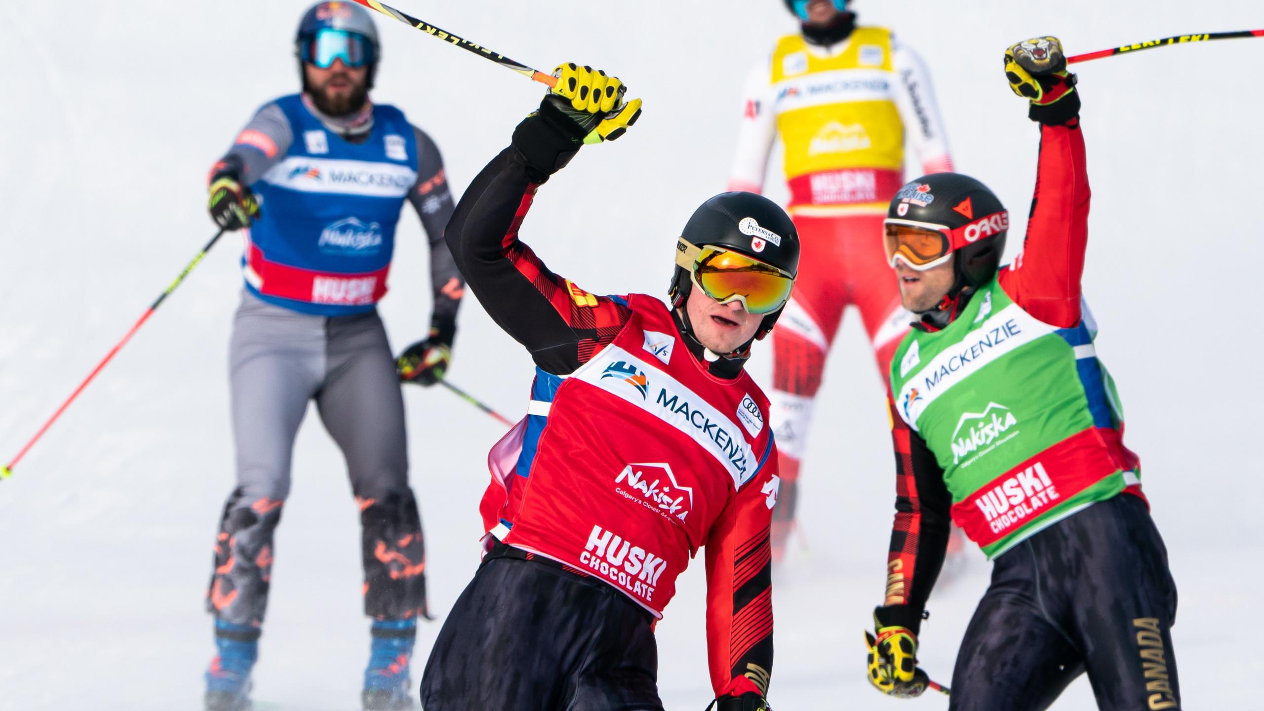 Reece Howden - Brady Leman - Nakiska Ski