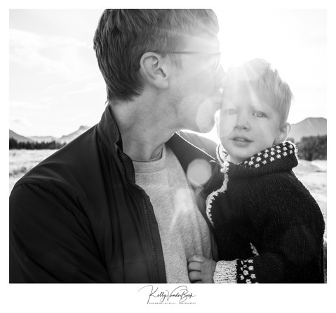 Morning Light - Family Portrait - Canmore