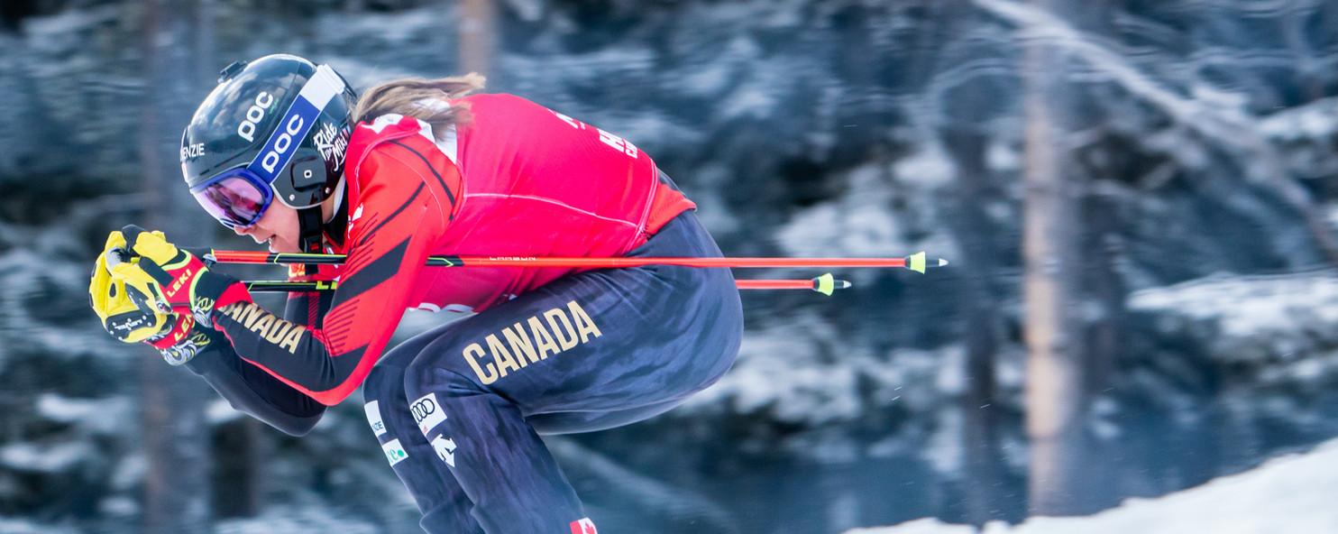 Britt Phelan - Nakiska Ski Cross 2020 -