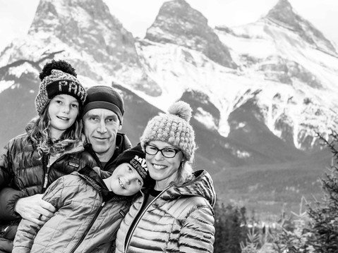 Our Natural Selves - Family Portrait - Bow Valley