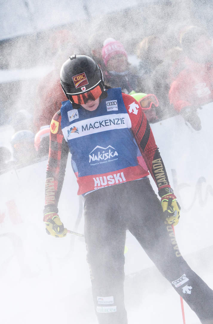 Marielle Thompson - Nakiska Ski Cross 20