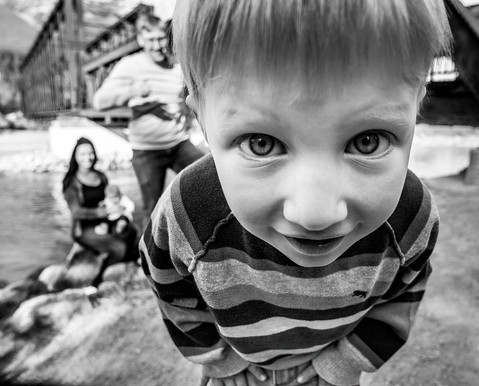I See You! - family portraits in Canmore