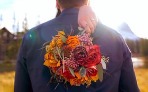 Canmore Wedding - Stephen & Sarah Elope
