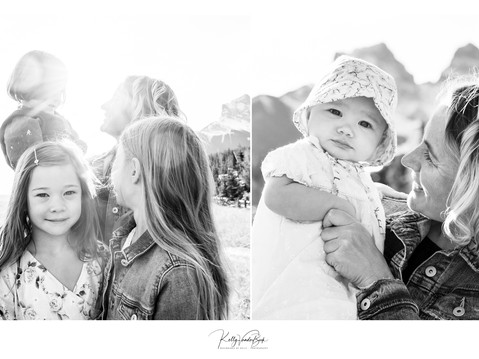 Family of 6 - Portraits in Canmore