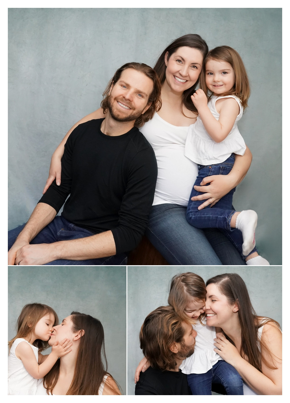 Maternity Portrait - Kelly VanderBeek - Canmore Banff based photographer