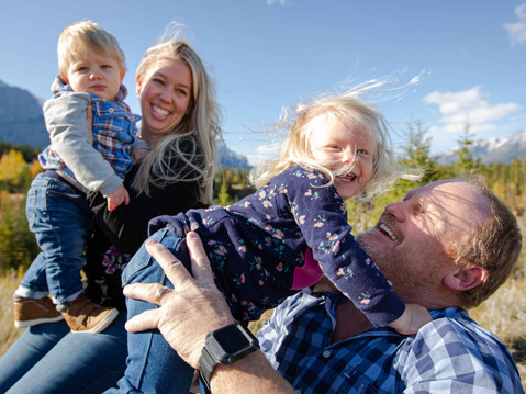 ALL THE FEELS - Canmore Fall Family Portrait Session