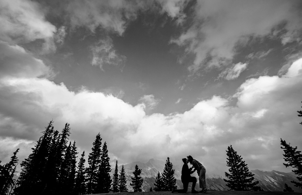 Top Of The World Proposal - Banff