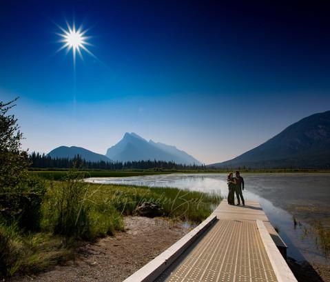 Babymoon in Banff