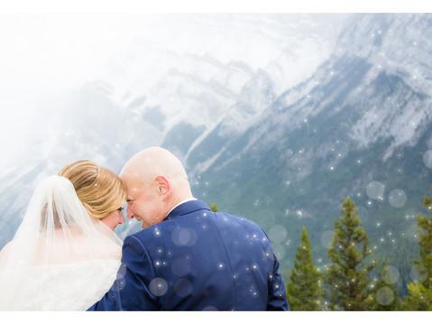 Vito & Dawn's Banff Wedding (Tunnel Mountain, Buffalo Mountain Lodge & First Look)
