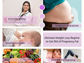 Ultimate Weight Loss Regime to Get Rid of Pregnancy Fat
