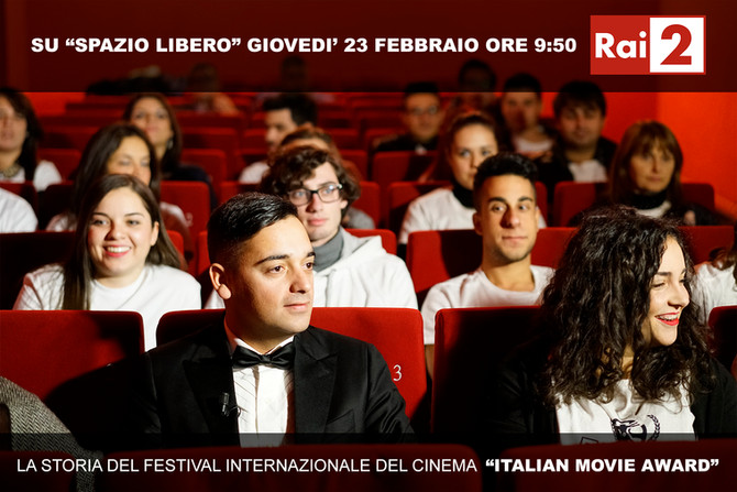 """Italian Movie Award"" interview with Carlo Fumo, on RAI 2 (TV)"