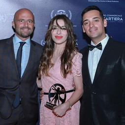 Carlo Fumo, Luca Abete e Sabrina Impacciatore